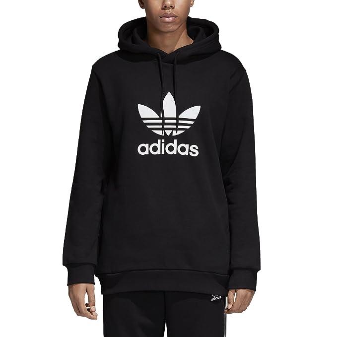 adidas Originals Men's Trefoil Hoodie, Black, Medium