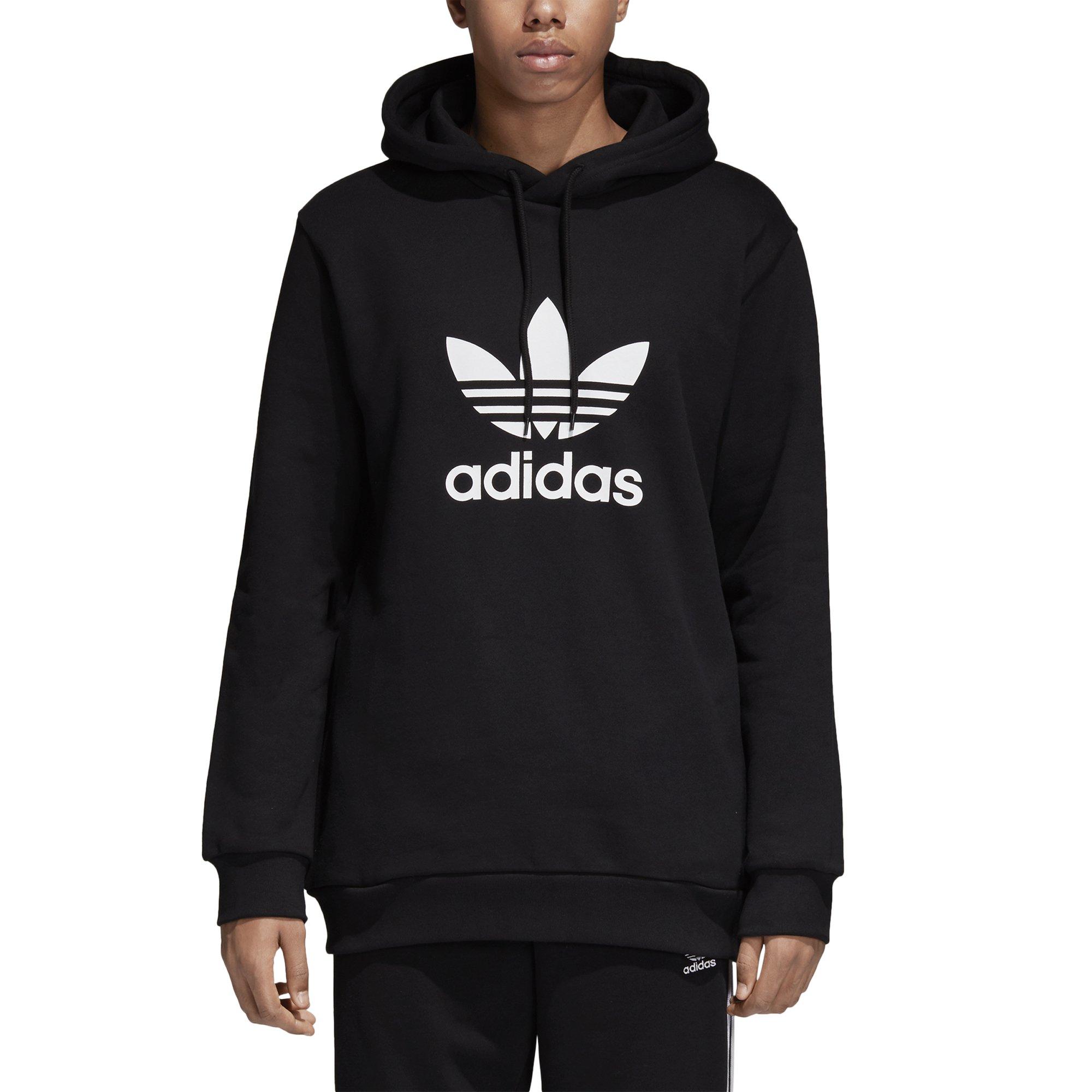 adidas Originals Men's Trefoil Hoodie, Black, Small