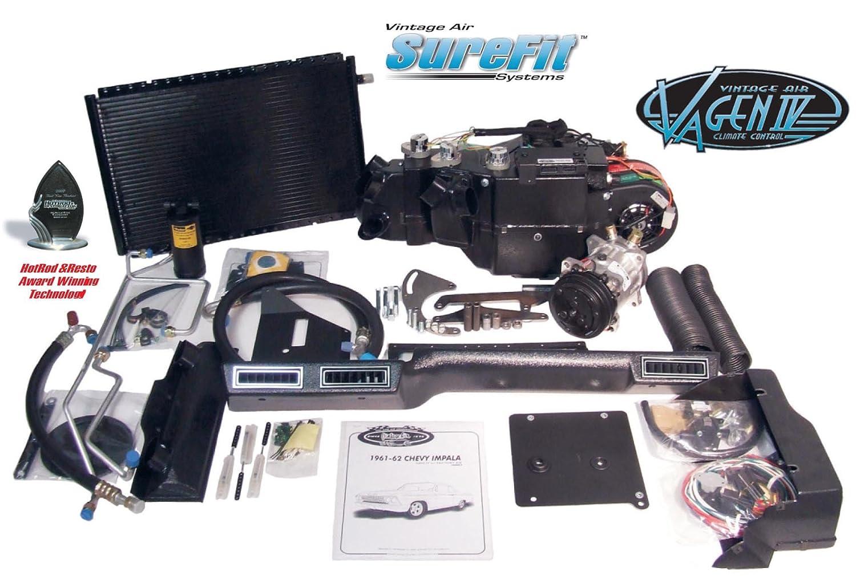 Vintage Air Gen IV SureFit System Kit 1961, 1962 Chevy Impala Without Factory AC Complete Kit Gen IV SureFit 1961-62 Chevy Impala