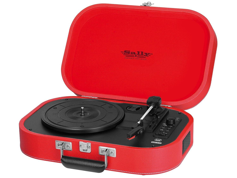 Trevi TT 1020 BT Rojo - Tocadiscos (Rojo, 33,45,78 RPM ...