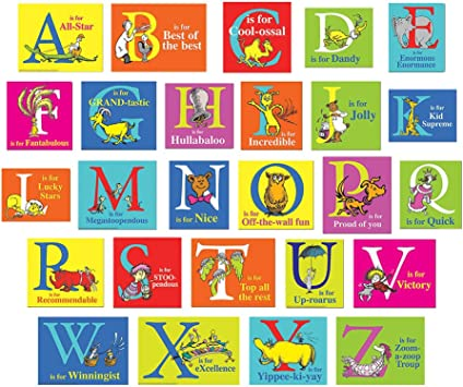 12pc Eureka Dr.Seuss Oh The Places Youll Go Bulletin Board Trim and Classroom Decoration for Teachers 3.25 W x 37 L