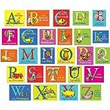 Eureka Dr. Seuss Encouraging and Positive ABC Mini Bulletin Board Set
