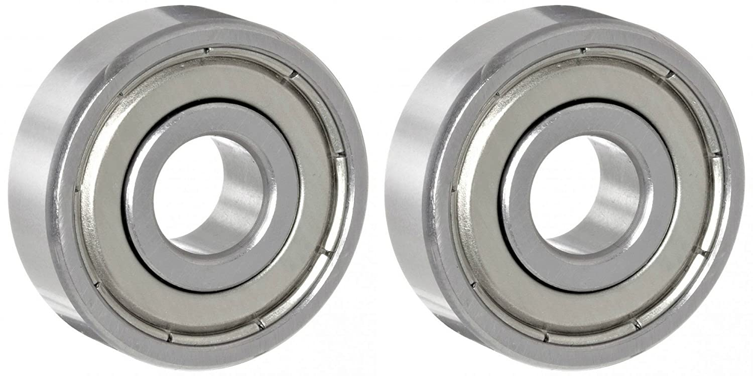 2 Two 625ZZ 5mm x 16mm x 5mm Shielded Deep Groove Precision Ball Bearings