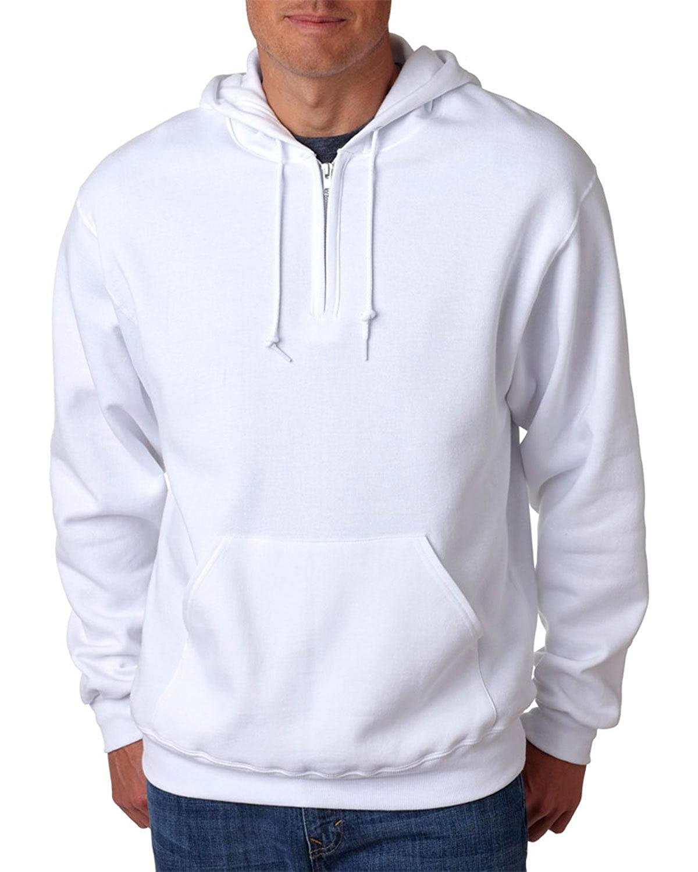 Quarter-Zip Hooded Pullover JERZEES