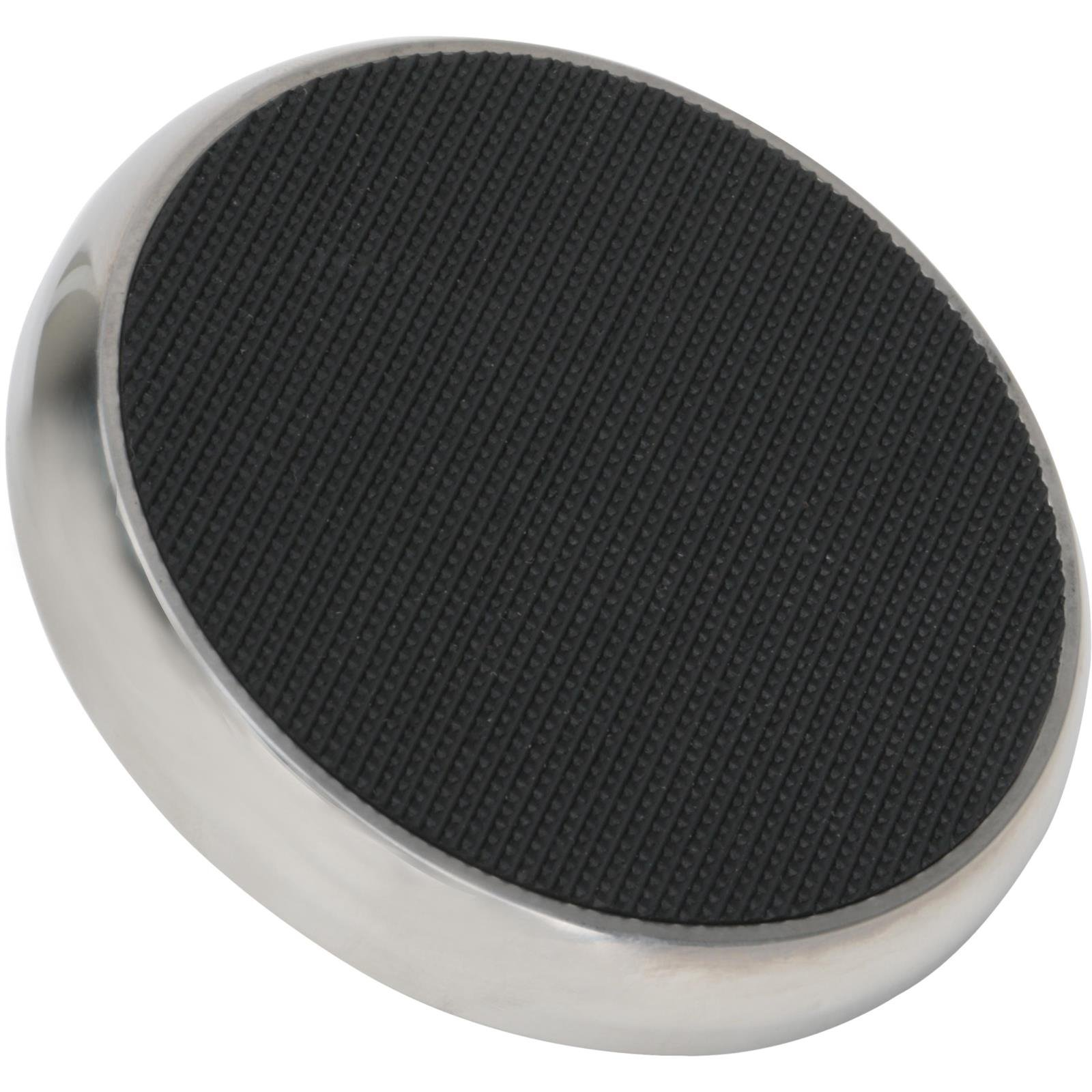 Brake Pedal Foot Pad, Round, Stainless Steel
