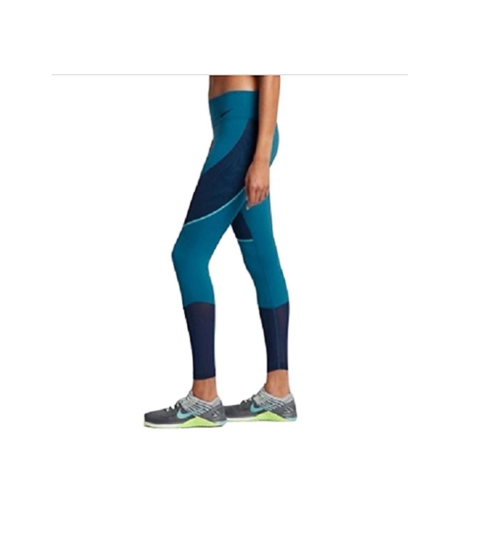 b73809ab92e2e Nike Women's Power Legendary Mid Rise Training Tights (Industrial  Blue/Binary Blue/Chlorine Blue/Black) 874712-457 Size: XS at Amazon Women's  Clothing store ...