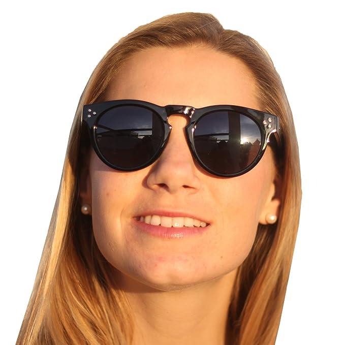 Gafas de Sol Redondas Unisex Mujer Hombre Modelo Warwick ...