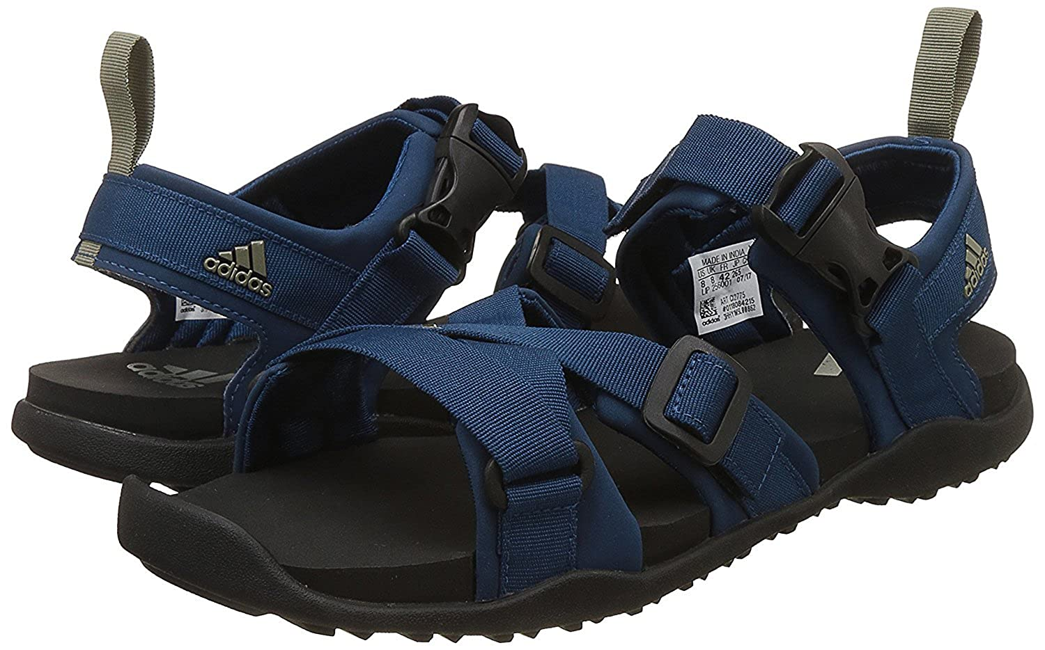 87831445df7 Adidas Men s Gladi M Blunit Traoli Sandals 12 UK  Buy Online at Low Prices  in India - Amazon.in