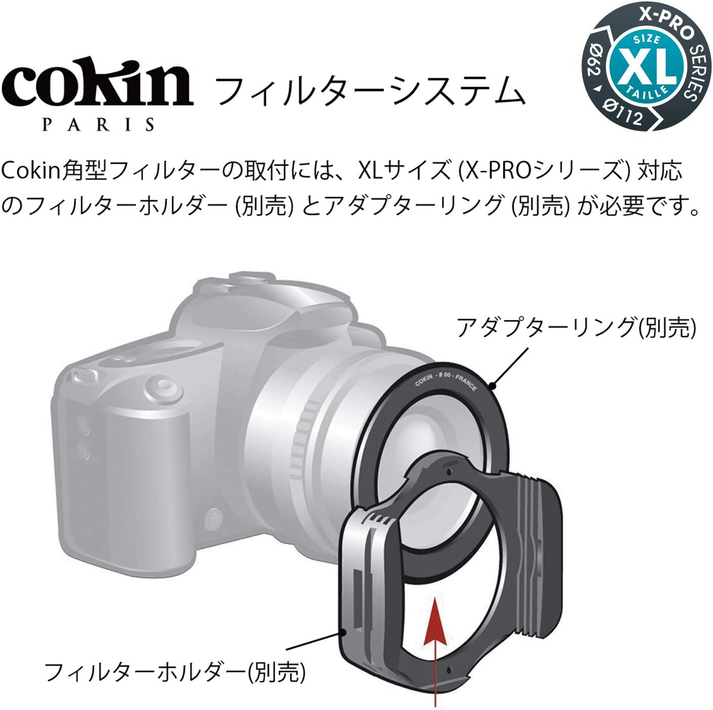 130mm X 170mm 2-Stop for XL Soft Cokin Square Graduated Tobacco T2 X Series Holder X125S