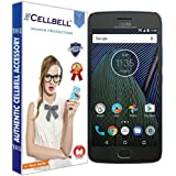 Cellbell Tempered Glass Screen Protector With Free Installation Kit For Motorola Moto G5 Plus