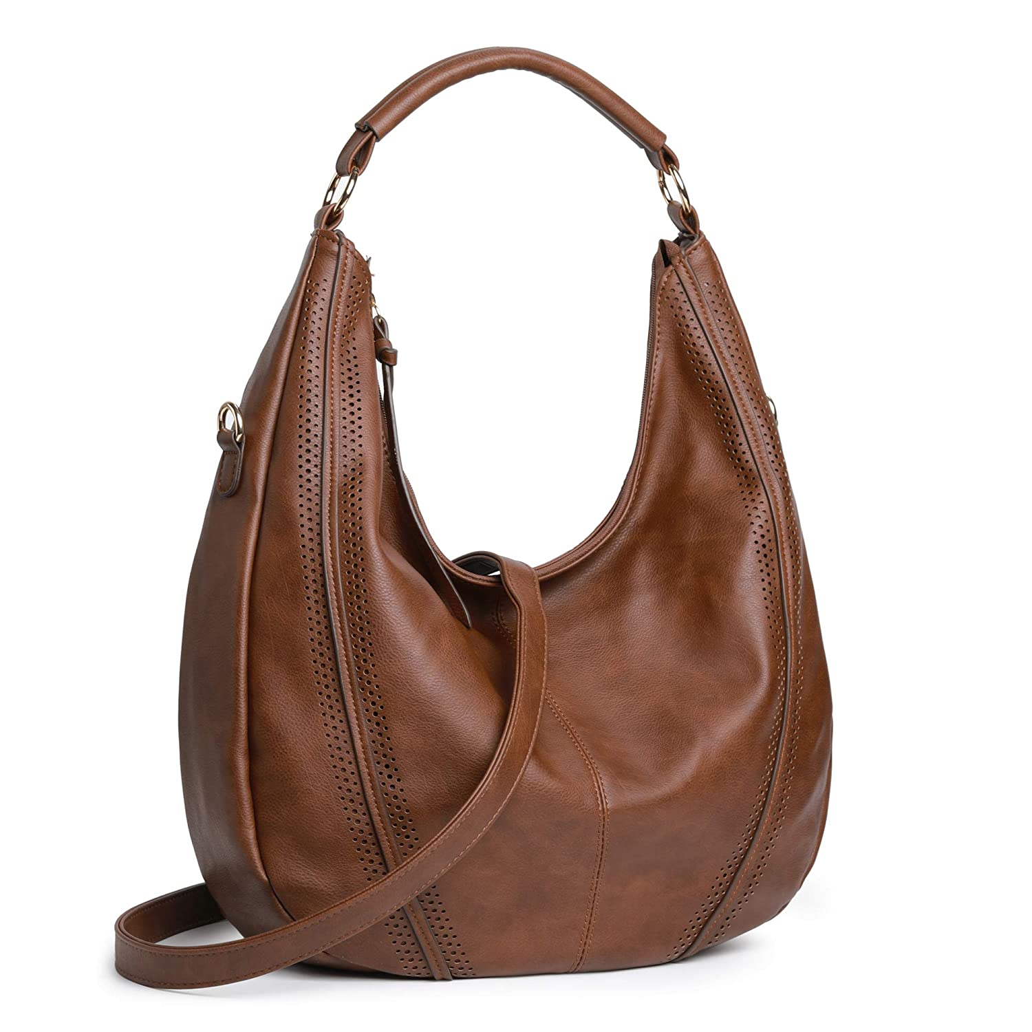Women Hobo Bags Oversized Leather Purse Handbags PU Crossbody Shoulder Totes Winter Stylish Purses