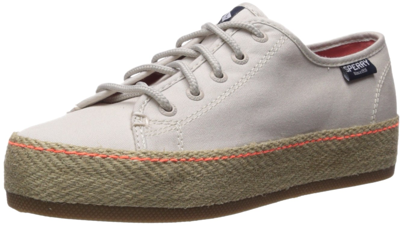 Sperry Top-Sider Women's Sky Sail Jute Wrap Sneaker B0721NNP5S 7.5 B(M) US|Off White