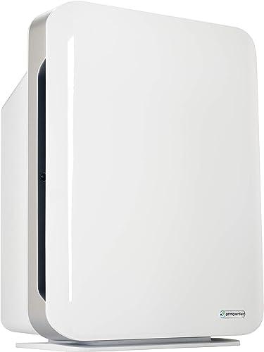Quiet Air Purifier (UV Light Sanitizer) - Eliminates Germs, Filters Allergies, Pollen, Smoke, Dust, Pet Dander, Mold, Odors [Guardian Technologies] Picture