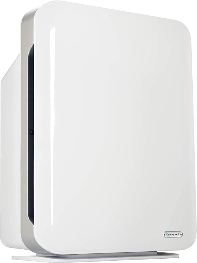 GermGuardian Air Purifier 4 in 1,High CADR True HEPA Filter, Large Rooms to338 sq ft, UV Light Sanitizer Eliminates Germs