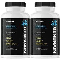 (2 Pack) Genbrain Advanced Brain Formula (120 Capsules)