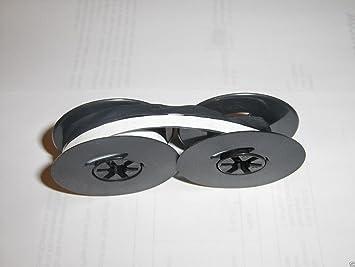 Smith Corona Pendientes de Super de máquina de escribir cinta Corrección de color blanco sobre negro