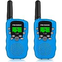 FAYOGOO Kids Walkie Talkies, 22-Channel FRS/GMRS Radio, 4-Mile Range Two Way Radios…