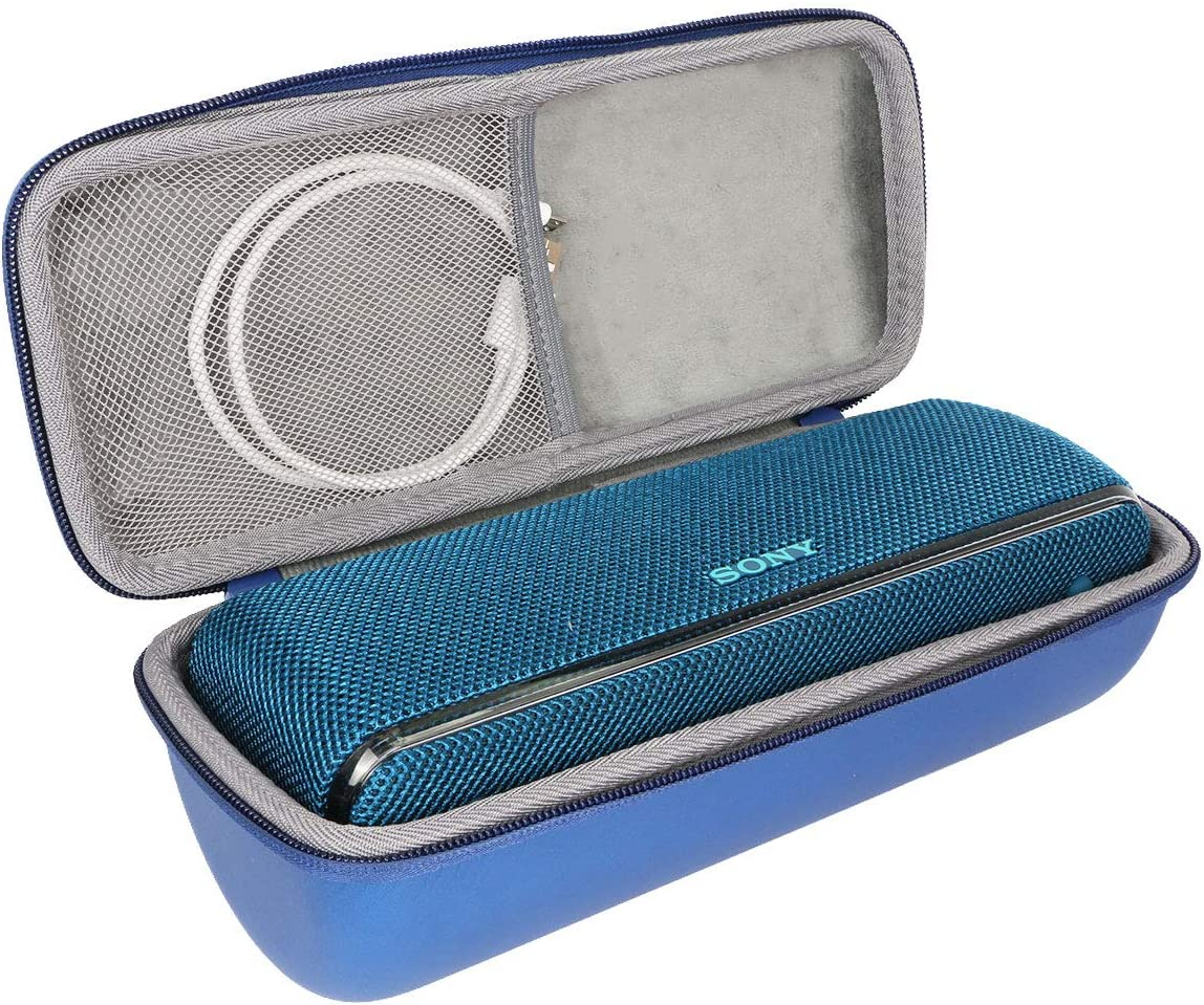 Hard EVA Travel Case for Sony SRS-XB31 Portable Wireless Bluetooth Speaker SRSXB31//Ll by co2crea Blue