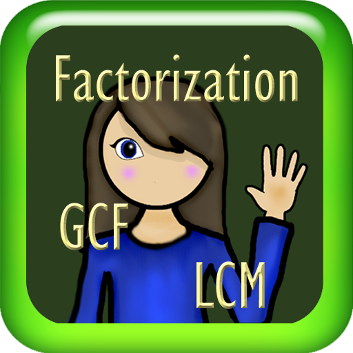 Factorization, GCF and LCM (for Kindle, Tablet & (Halloween Math Problem Solving Middle School)