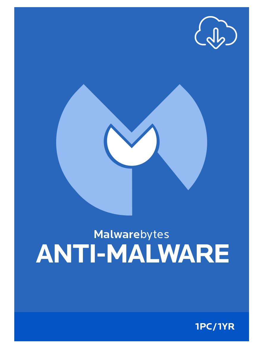 Malwarebytes Anti-Malware Premium 1-Jahres-Abonnement für 1 PC [Download]