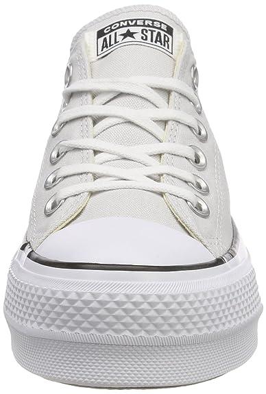 Converse Damen CTAS Lift Ox MouseWhiteBlack Sneaker