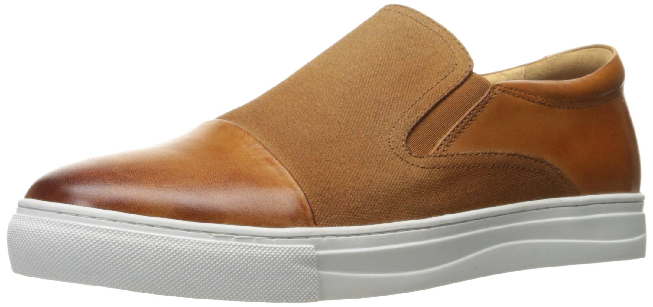English Laundry Men's Gants Slip-on Loafer, Cognac, 10.5 M US