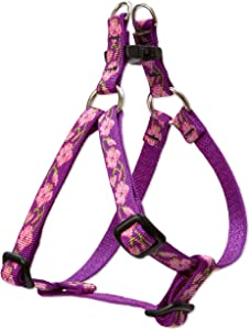 "LupinePet Originals 1/2"" Rose Garden Step In Dog Harness"