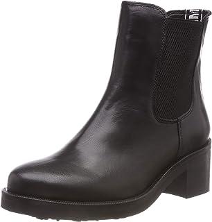 Tommy Hilfiger Damen P1285aola 4a Kurzschaft Stiefel schwarz