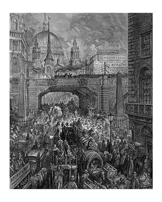 Cartel: Gustave Dore - Ludgate Hill - 10 tamaños de elección ...