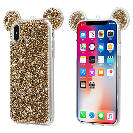 coque iphone 7 strass disney