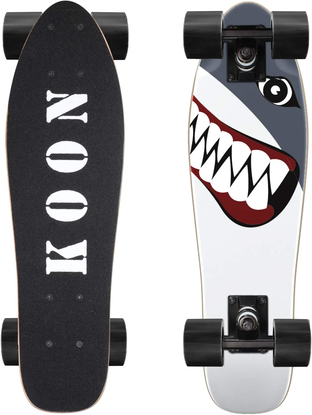 Ko-On 22 Inch Complete Mini Cruiser Skateboard for Beginners