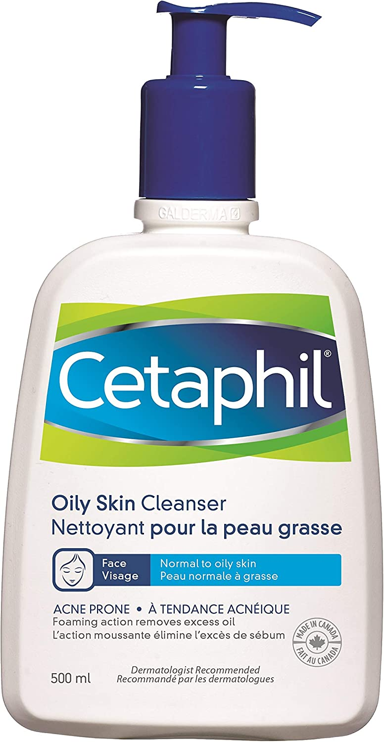 Cetaphil Oily Skin Cleanser 500ml Amazon Ca Beauty
