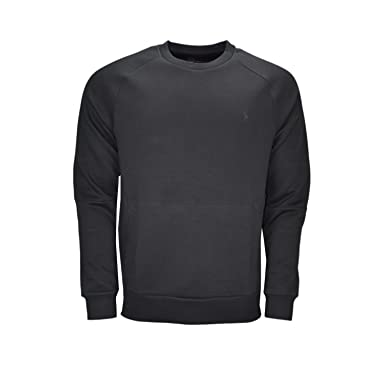 Ralph Lauren Sweat molletonné Noir pour Homme  Amazon.fr  Vêtements et  accessoires c1476d74ada
