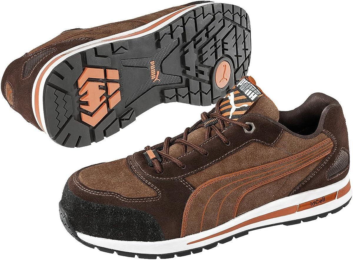 Puma Safety Footwear Mens Blaze Knit Low Lace up S1 Safety