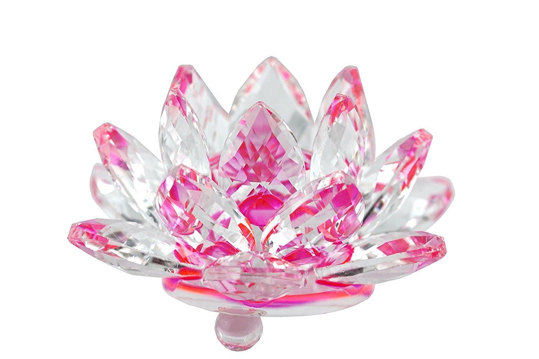 Amazon Jkk Sale Sparkle Crystal Lotus Flower Clear Home