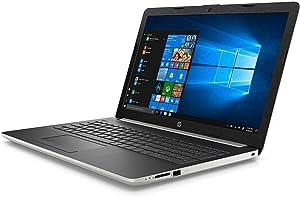 2018 HP 17.3 Inch HD+ High Performance Laptop | Intel Core i5-8250U Quad Core | 16GB RAM | 256GB M.2 SSD+ 1TB HDD | Intel UHD Graphics 620| Webcam | Windows 10 | silver color