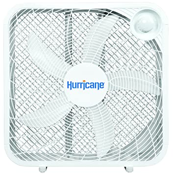 hurricane box fan 20 inch clic series 3 energy efficient sd settings