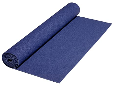 Amazon.com : Bheka Deluxe Long Life Yoga Mat Dark Blue 90 ...