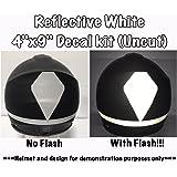Amazon Com Reflective Motorcycle Helmet Decal Kit