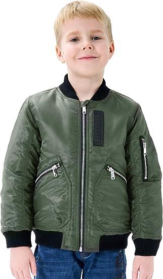 CosSky Boys Bomber Jacket 10-12