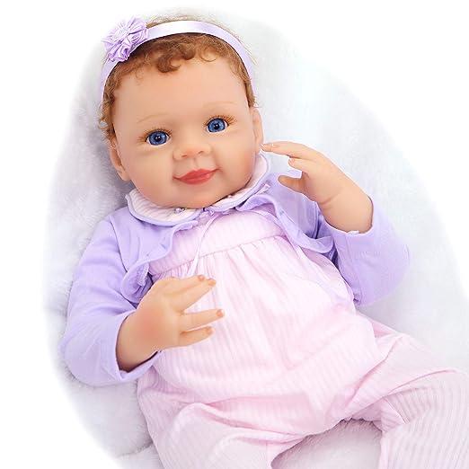 Amazon.es: Pursue Baby 18 Pulgadas Bebes Reborn realistas ...