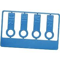 Reifenmarkierset Reifenmarkierung für Reifenwechsel Radmarker (Blau, 1er-Set)