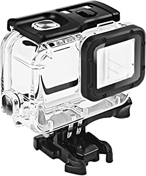 Amazon Com Fitstill Double Lock Waterproof Housing For Gopro Hero 2018 7 6 5 Black Protective 45m Underwater Dive Case Shell With Bracket Accessories For Go Pro Hero7 Hero6 Hero5 Action Camera Camera Photo
