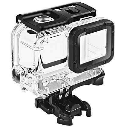 Amazon.com   FitStill Waterproof Housing for GoPro HERO 2018 7 6 5 ... d560cdd05fdb