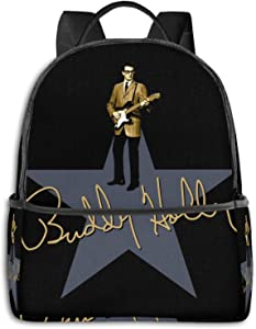 Buddy Holly - Signature Pullover Hoodie Student School Bag School Cycling Leisure Travel Camping Outdoor Backpack