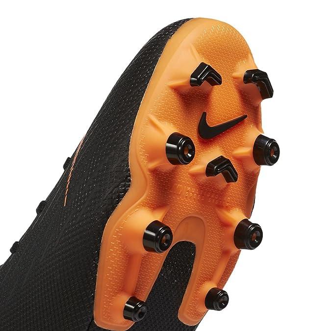 Nike Vapor 12 Academy MG, Chaussures de Fitness Mixte Adulte, Multicolore (Total Orange/Black-T 810), 47.5 EU