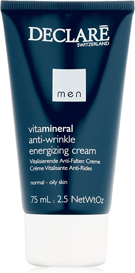 Declaré Vitamineral homme/hombres, Anti-Arrugas Crema Energizante, 1er Pack (1 x 75 g): Amazon.es: Belleza