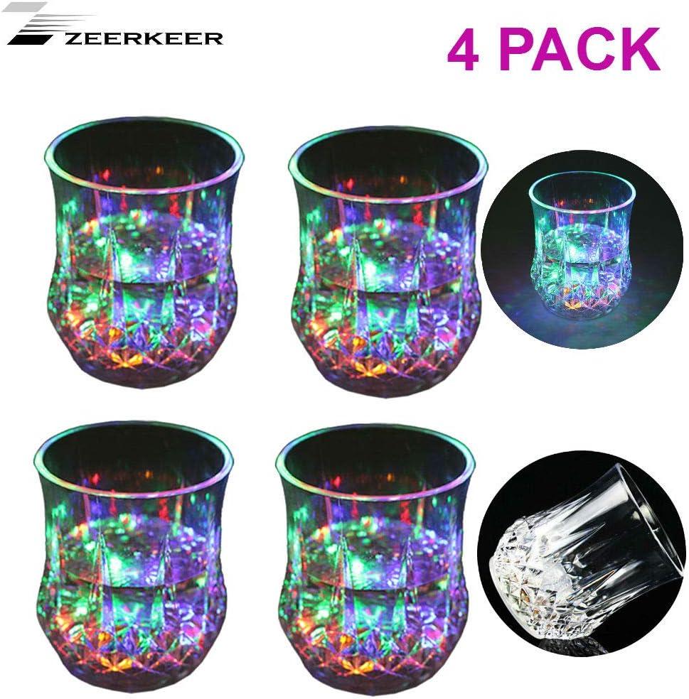 Zeerkeer Verre /à LED 5 LED Acrylique Acrylique Verre Incassable Texture PC