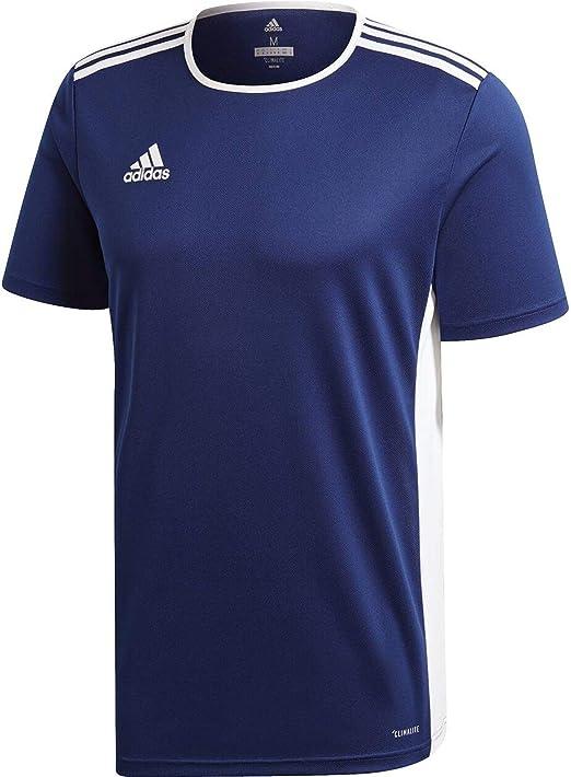 adidas Entrada 39 Camiseta de Fútbol para Hombre de Cuello Redondo ...