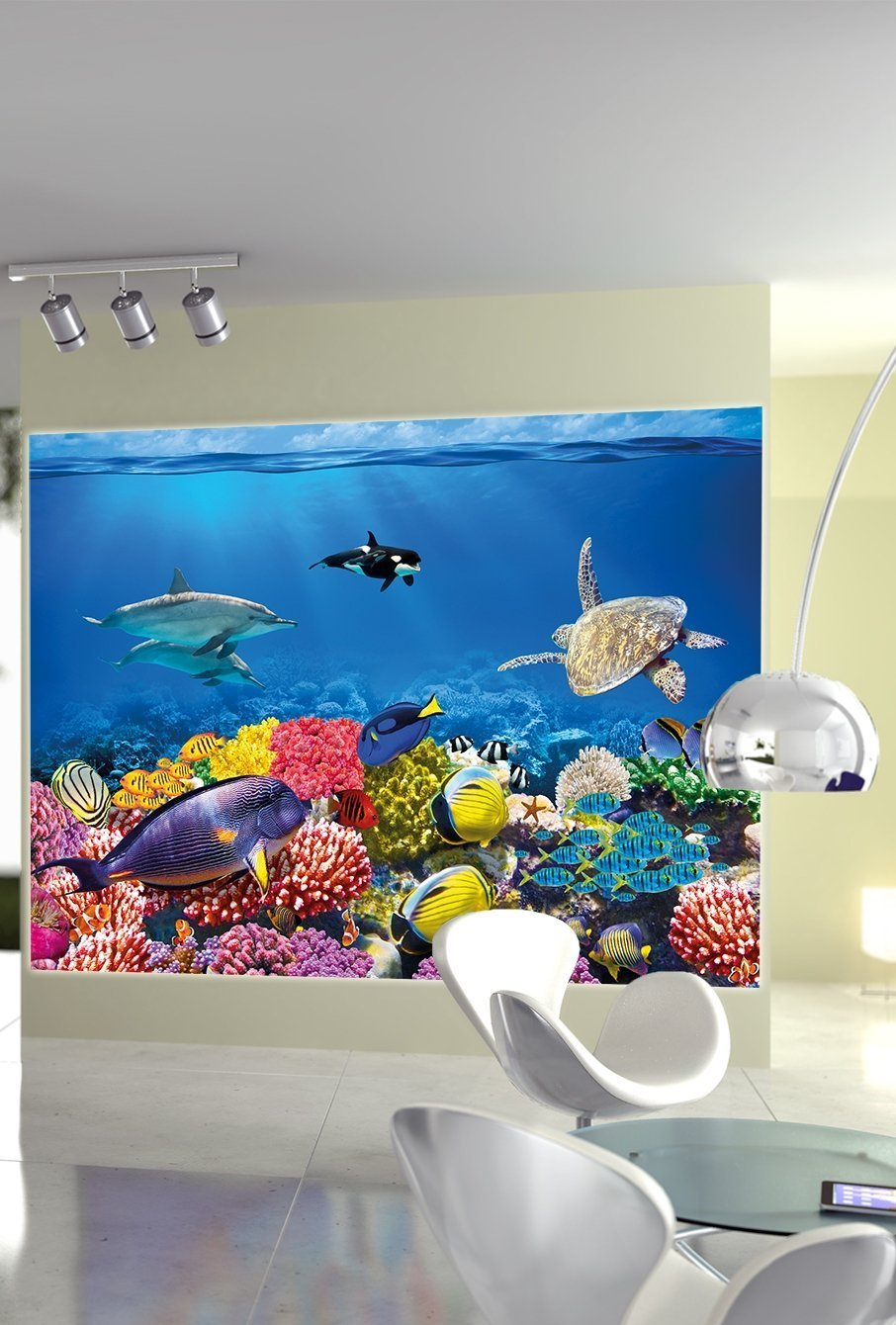 amazon com undersea coral reef photo wall paper aquarium fish amazon com undersea coral reef photo wall paper aquarium fish sea mural xxl undersea underwater world wall decoration great art 55 inch x 39 4 inch